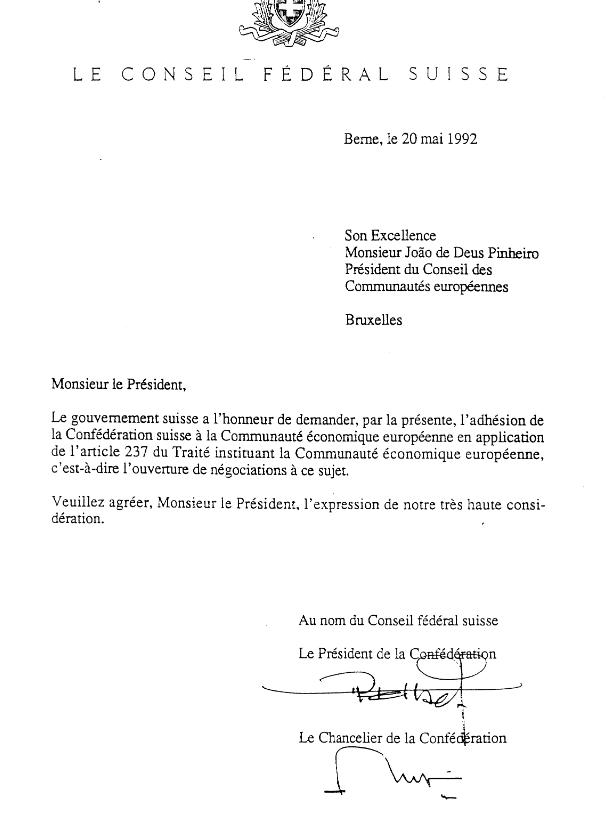 adhésion suisse à la CE