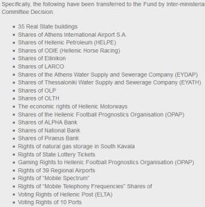 privatiser grece