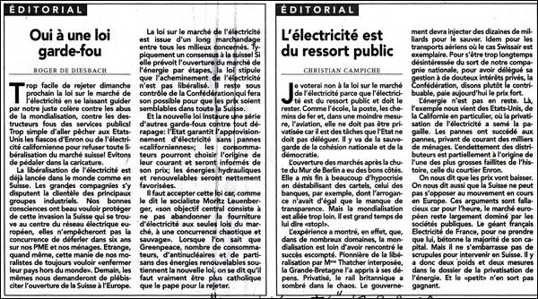 Edito Liberté 17 septembre 2002
