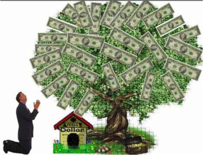 dieu argent