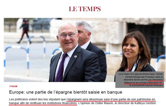 Sapin II - Le Temps