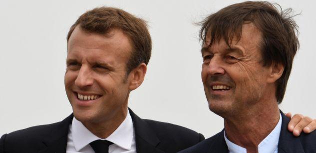 hulot Macron