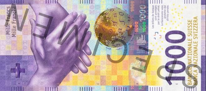 BNS - 1000 francs