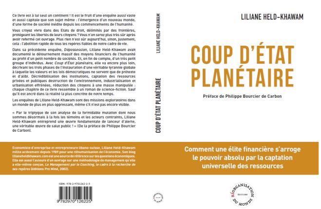 Couverture Liliane Coup d'Etat