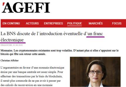L'Agefi II