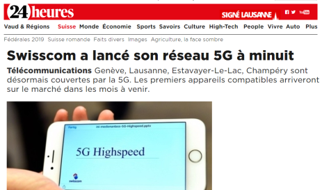 24heures - Swisscom