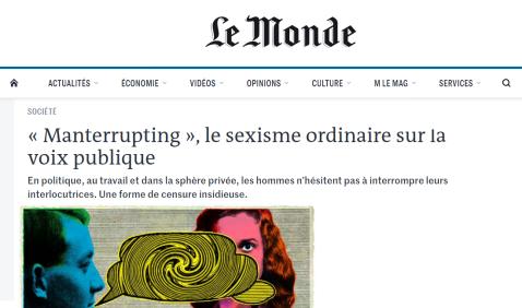 Monde - Manterrupting