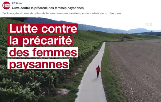 RTS - précarités femmes paysannes