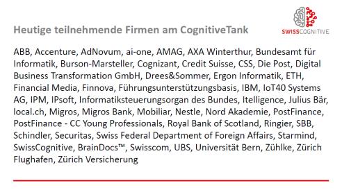 Swisscognitive - Members