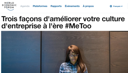 World Economic Forum - Davos - Metoo