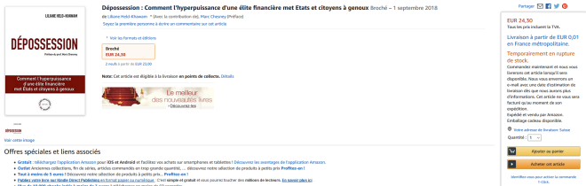 Dépossession Amazon