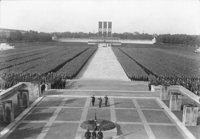 Nürnberg, Reichsparteitag, SA- und SS-Appell