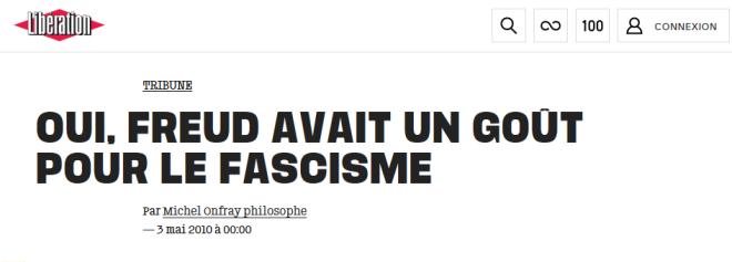 Libération - Freud II