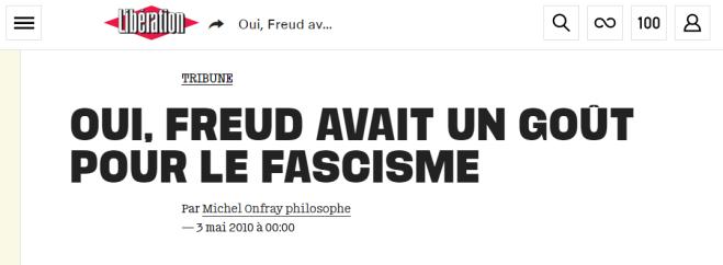Libération - Freud