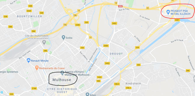 PSA mulhouse