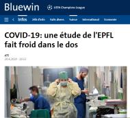 Bluewin - EPFL - Étude alarmiste
