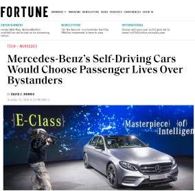 Mercedes - Self Drive