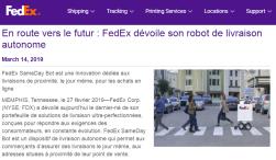 Robots - FedEx
