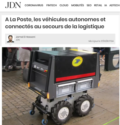 Robots - Poste Française