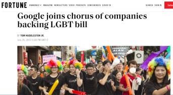 Google - LGBT Bill