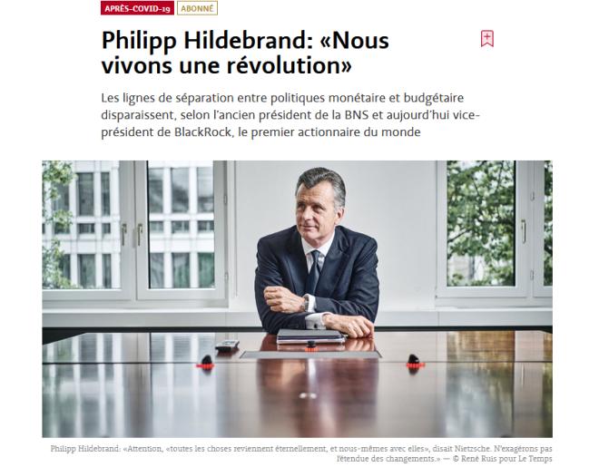 Hildebrand révolution