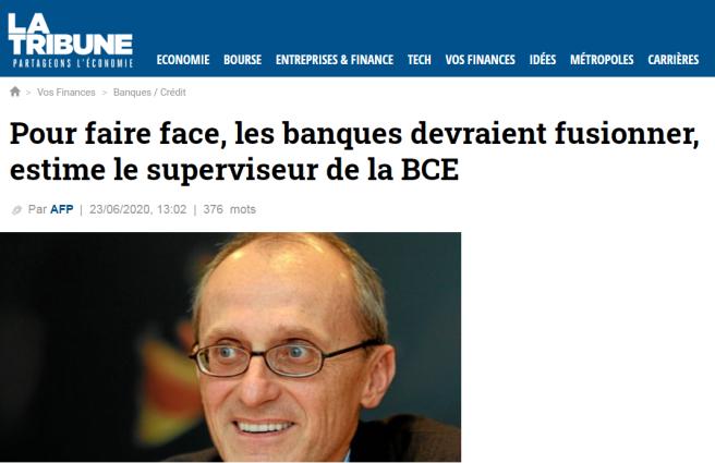 La Tribune - Superviseur BCE