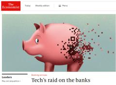 The Economist - Tech's Raid On Banks
