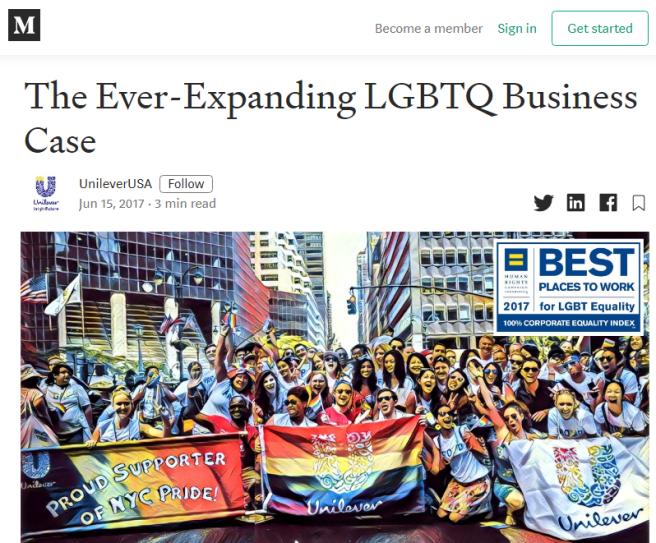 Unilever - LGBT II