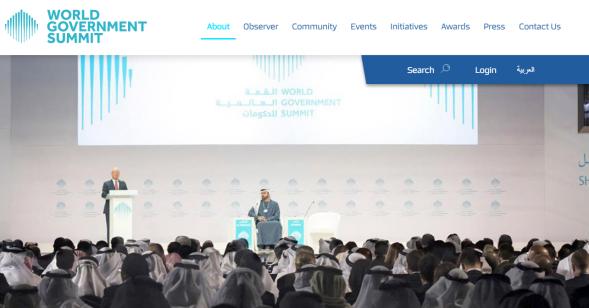 World Government Summit - Schwab