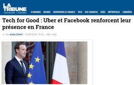 Zuckerberg - Tech for good