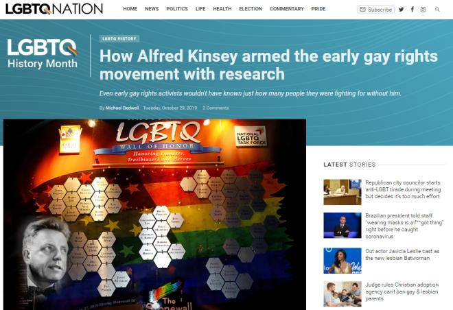 Kinsey - LGBTQ Nation