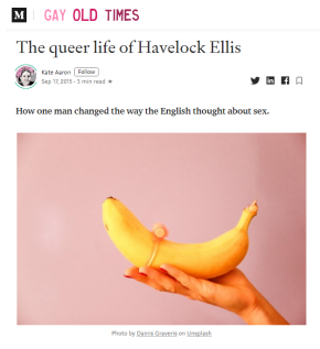 Medium - Havelock Ellis - Gay Old Times