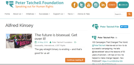 Peter Thatchell Foundation - Kinsey