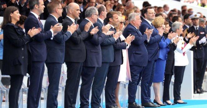 Photo 14 juillet 2020 Ministres de la santé dont M Berset